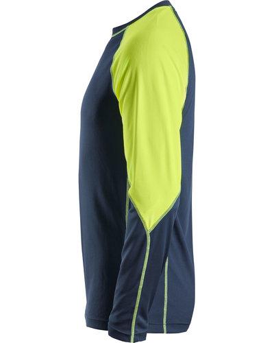 Snickers Workwear AllroundWork Neon T-shirt met Lange Mouwen