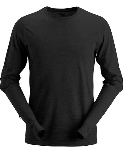 Snickers Workwear 2427 Wollen Longsleeve T-Shirt