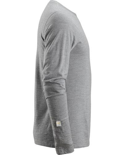 Snickers Workwear 2427 AllroundWork Wollen T-Shirt met Lange Mouwen