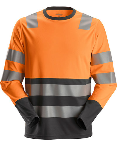 Snickers Workwear 2433 High-Vis Longsleeve, Klasse 2