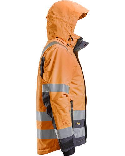 Snickers Workwear AllroundWork  High-Vis Waterproof 37.5® Isolerend Jack
