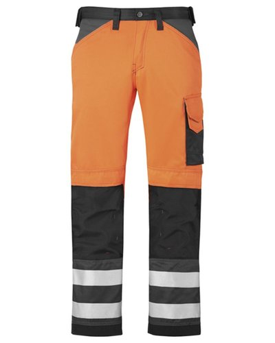 Snickers Workwear 3333 Broek High Visibility, Klasse 2