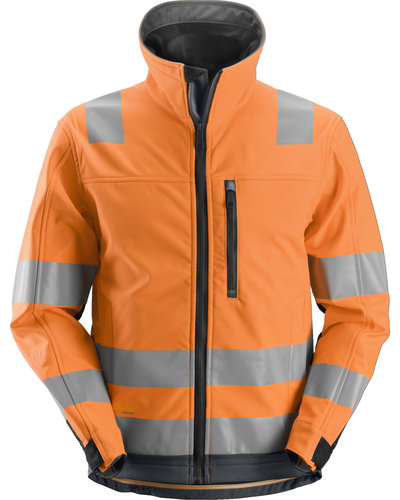 Snickers Workwear 1230 High-Vis Softshell Jack