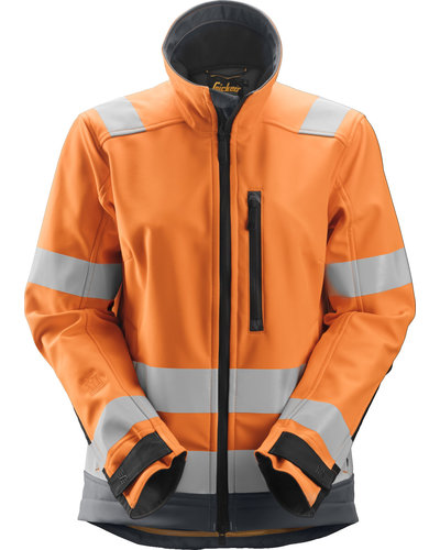 Snickers Workwear 1237 High-Vis Softshell Dames Jack