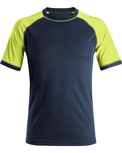 Snickers Workwear AllroundWork Neon T-shirt met Korte Mouwen