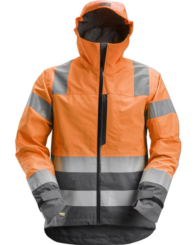 Snickers Workwear 1330 High-Vis Waterdicht Shell Jack
