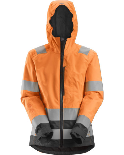 Snickers Workwear 1347 Dames High-Vis Waterproof Shell Jack