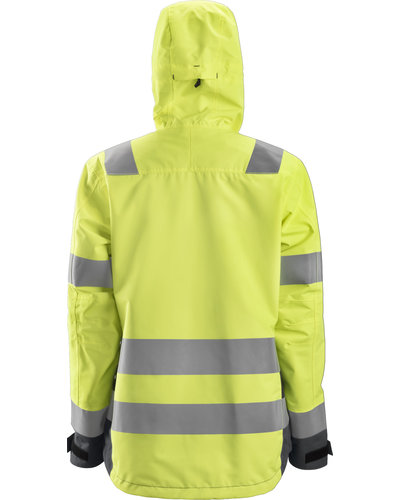 Snickers Workwear AllroundWork Dames High-Vis Waterproof Shell Jack