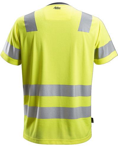 Snickers Workwear 2530 AllroundWork Hi-Vis T-Shirt, Klasse 2