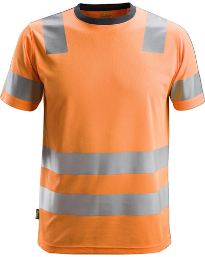 Snickers Workwear 2530 High-Vis T-shirt, Klasse 2