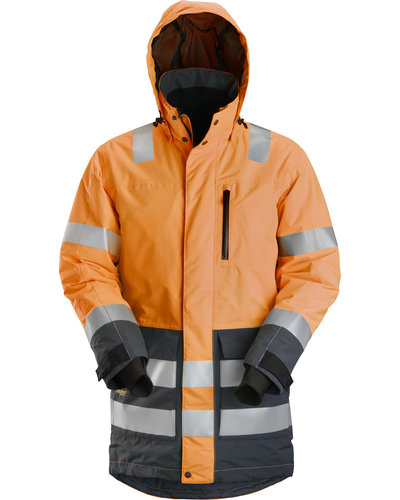 Snickers Workwear 1830 High-Vis Waterproof Parka