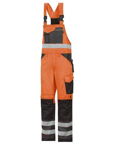 Snickers Workwear 0113 Tuinbroek hoge zichtbaarheid