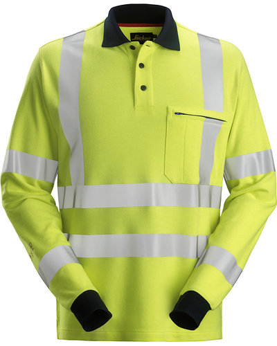 Snickers Workwear 2661 Multinorm Hi-Vis Polo, Lange Mouwen