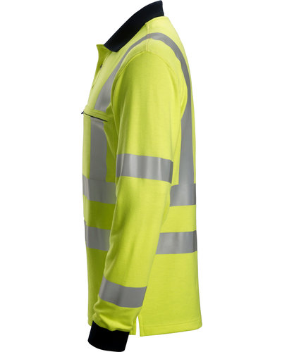 Snickers Workwear 2661 Multinorm Hi-Vis Poloshirt met Lange Mouwen