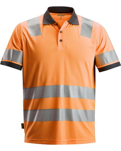 Snickers Workwear 2730 Hi-Vis Poloshirt, Klasse 2