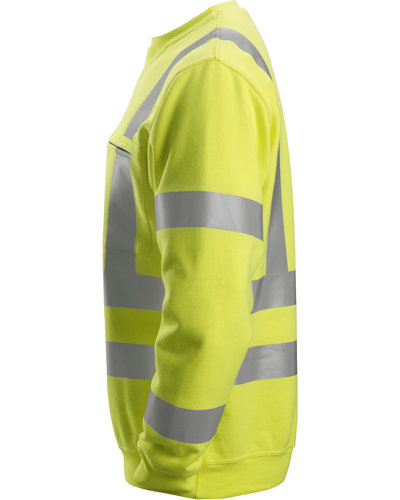 Snickers Workwear 2863 Multinorm Sweatshirt, Hi-Vis Klasse 3