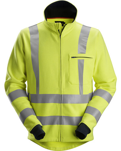 Snickers Workwear 2864 Multinorm Sweatshirt Rits, Hi-Vis