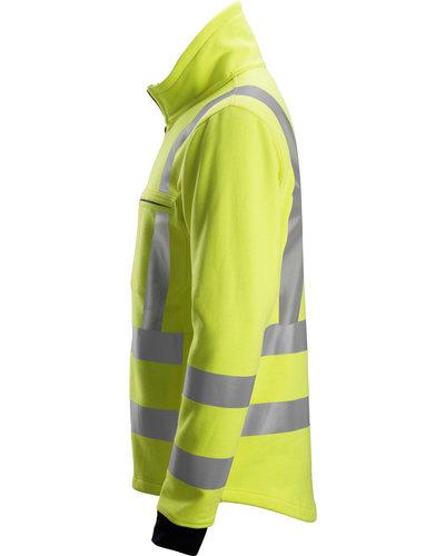 Snickers Workwear 2864 Multinorm Sweatshirt met Rits, Hoge Zichtbaarheid