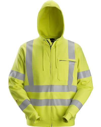 Snickers Workwear 2865 Multinorm Hoodie met Rits, Hi-Vis