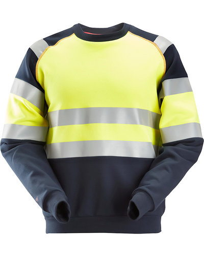 Snickers Workwear 2869 Multinorm Sweatshirt, Hi-Vis 1