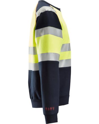 Snickers Workwear 2869 Multinorm Sweatshirt, Hi-Vis Klasse 1