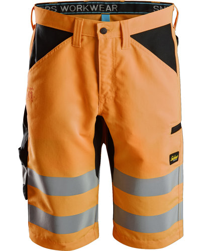 Snickers Workwear 6132 High-Vis Korte Broek+ Klasse 1