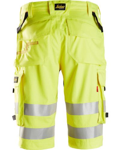 Snickers Workwear ProtecWork Shorts High-Vis Klasse 1