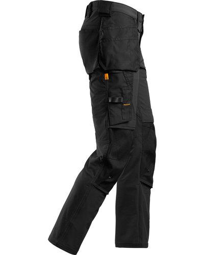 Snickers Workwear AllroundWork Full Stretch Werkbroek met Holsterzakken
