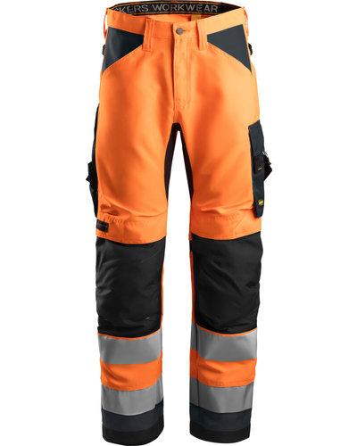 Snickers Workwear 6331 Hi-Vis Werkbroek+, Klasse 2