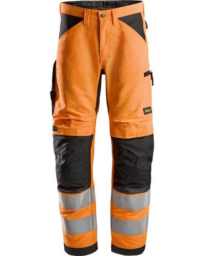 Snickers Workwear LiteWork High-Vis Werkbroek+, Klasse 2
