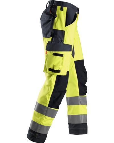 Snickers Workwear ProtecWork Hi-Vis Werkbroek met Symmetrische Zakken