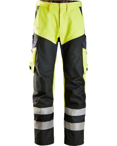 Snickers Workwear ProtecWork Hi-Vis Broek met Scheenversterking