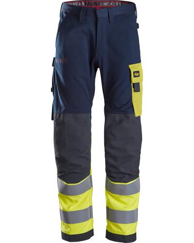 Snickers Workwear ProtecWork Hi-Vis Werkbroek Klasse 2