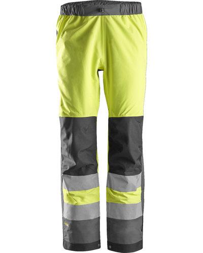 Snickers Workwear 6530 Hi-Vis Waterproof Shell Broek Klasse 2