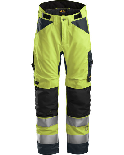 Snickers Workwear 6639 High-Vis 37.5 Isolerende Werkbroek+ Klasse 2