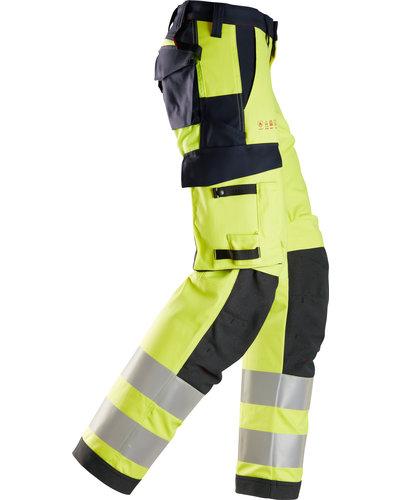 Snickers Workwear ProtecWork High-Vis Damesbroek, Klasse 2