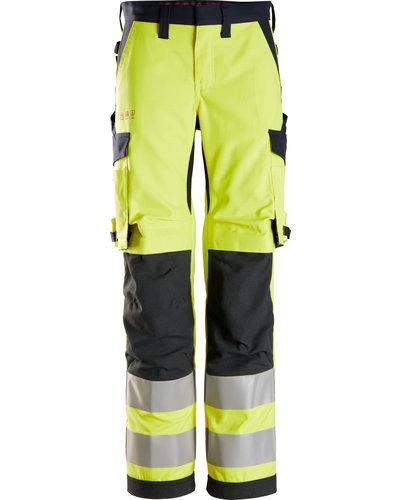 Snickers Workwear 6760 High-Vis Damesbroek, Klasse 2