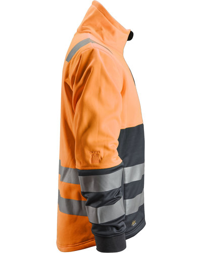 Snickers Workwear AllroundWork Hi-Vis Werkjack met Rits, Klasse 2