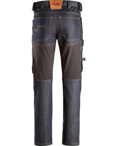 Snickers Workwear FlexiWork Denim Werkbroek+