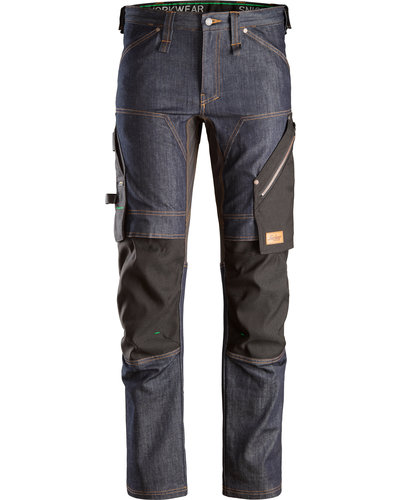 Snickers Workwear 6956 Denim Werkbroek+
