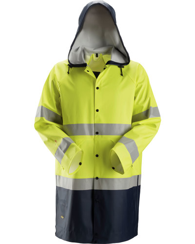 Snickers Workwear 8261 Multinorm Regenjack PU, Hi-Vis