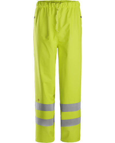 Snickers Workwear 8267 Multinorm Regenbroek PU, Hi-Vis