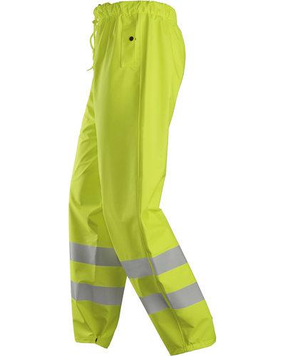 Snickers Workwear ProtecWork  High-Vis Multinorm Regenbroek PU