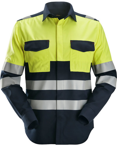 Snickers Workwear 8560 Multinorm Overhemd, Hi-Vis 1