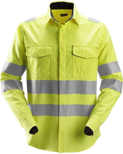 Snickers Workwear 8562 Multinorm  Overhemd, Hi-Vis 3