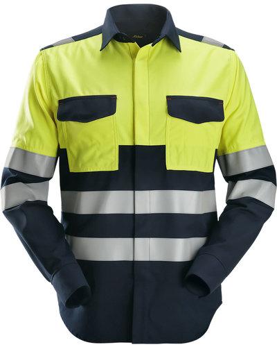 Snickers Workwear ProtecWork Lasshirt met Lange Mouwen, Hi-Vis 1