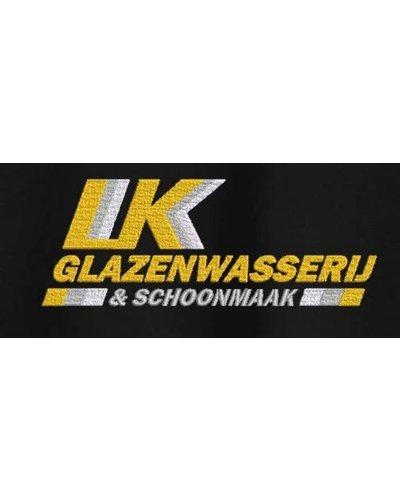 Borduurlogo's  LK Glazenwasserij & Schoonmaak