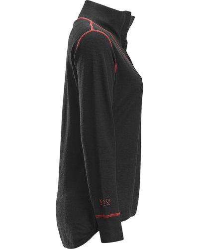 Snickers Workwear ProtecWork Damesshirt, Longsleeve + Korte Rits