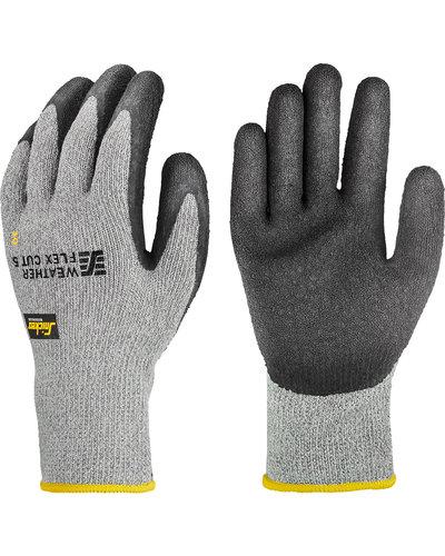 Snickers Workwear Weather Flex Cut 5 Handschoenen, Snijbeschermend