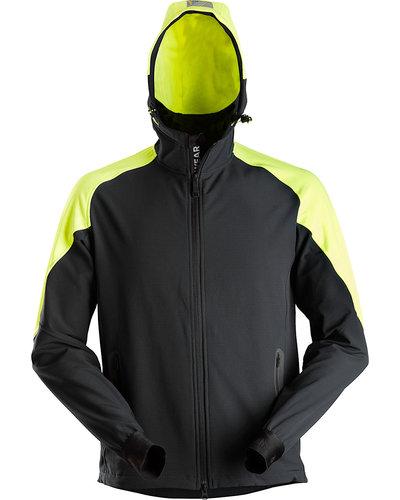 Snickers Workwear 8025 Neon Stretch Hoodie met Rits